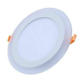 Round-plus downlight 3W DW + 2W WW
