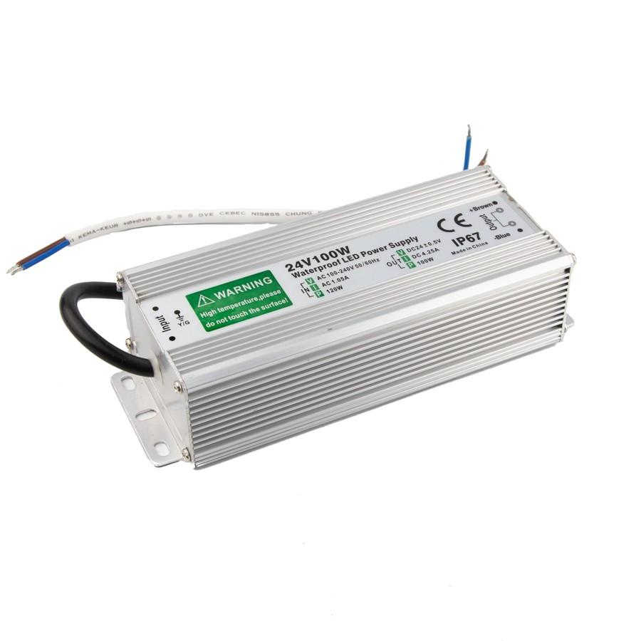 Power supply 100W-24V-4,2A IP67
